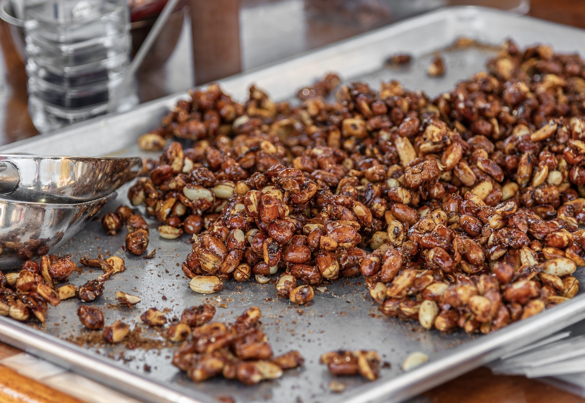 Spiced and Smokey Roasted Nuts