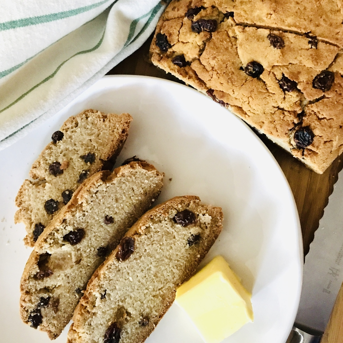 Irish Soda Bread (Paleo, low carb, dairy free, Keto , vegan, GAPS friendly)